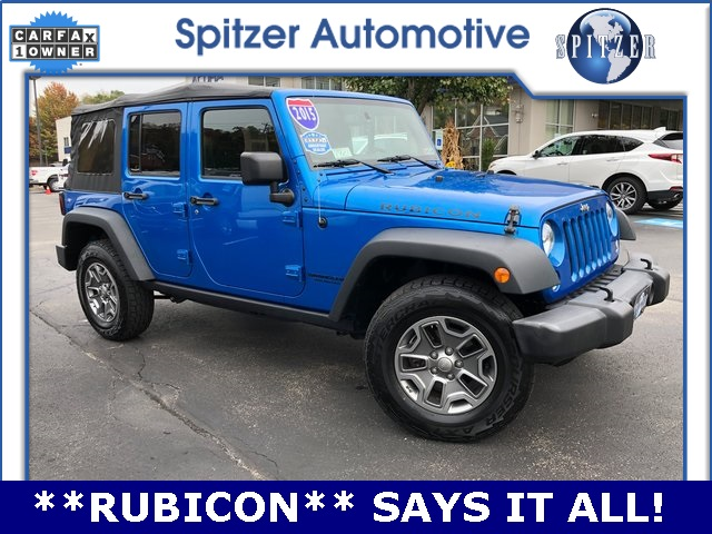 2015 Jeep Wrangler Unlimited Rubicon >> Certified Pre Owned 2015 Jeep Wrangler Unlimited Rubicon