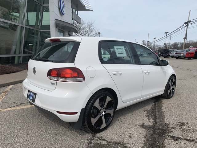 Certified Pre-Owned 2013 Volkswagen Golf TDI